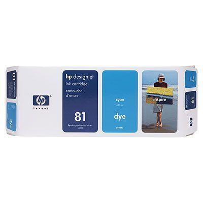 C4931A - HP Inkt Cartridge 81 Cyaan 680ml