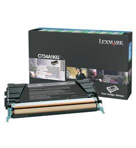 C734A1KG - LEXMARK Toner Cartridge Black 8.000vel 1st