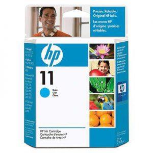 C4836AE - HP Inkt Cartridge 11 Cyaan 28ml