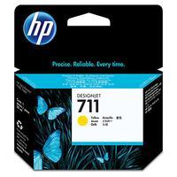 CZ132A - HP Inkt Cartridge 711 Yellow 29ml