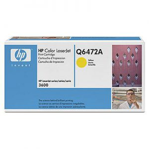 Q6472A - HP Toner Cartridge 502A Yellow 4.000vel