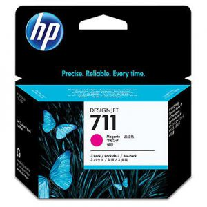 CZ135A - HP Inkt Cartridge 711 Magenta 29ml 3st