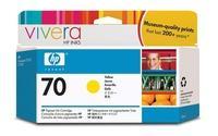 C9454A - HP Inkt Cartridge 70 Yellow 130ml