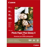 2311B019 - CANON INK Fotopapier Plus Glossy II A4 260g/m2 Gloss PP201 20vel