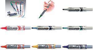 007627 / MWL5M - PENTEL Whiteboard Marker MWL5M 3mm