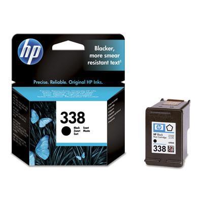 C8765EE - HP Inkt Cartridge 338 Black 11ml
