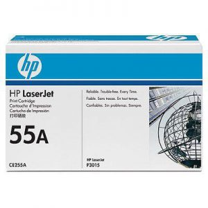 CE255A - HP Toner Cartridge 55A Black 6.000vel