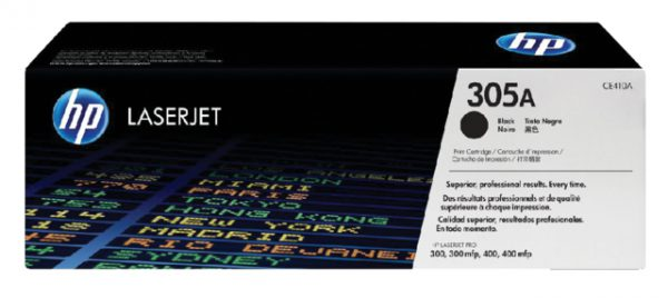CE410A - HP Toner Cartridge 305A Black 2.200vel
