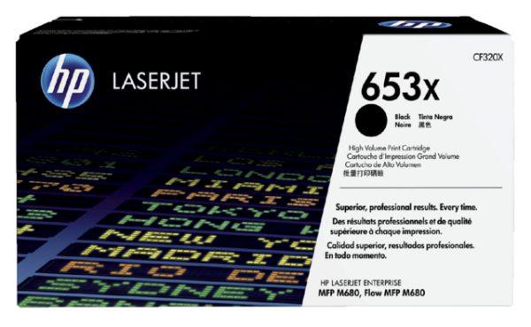 CF320X - HP Toner Cartridge 653X Black 20.000vel