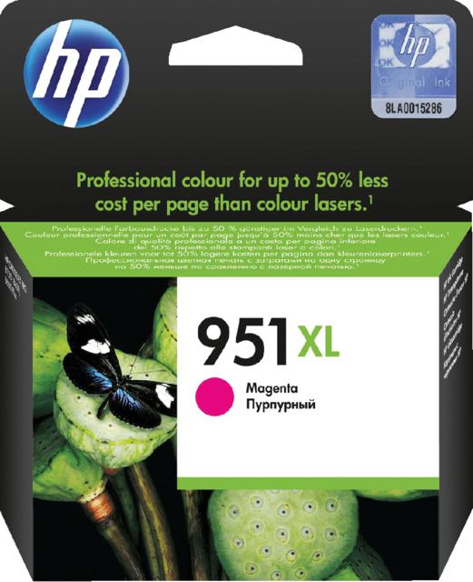 CN047AE - HP Inkt Cartridge 951XL Magenta 17ml