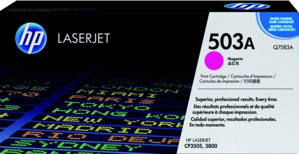 Q7583A - HP Toner Cartridge 503A Magenta 6.000vel