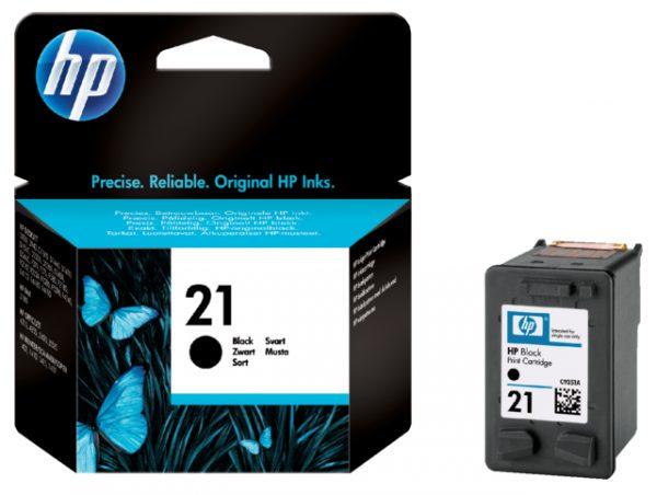 C9351AE - HP Inkt Cartridge 21 Black 5ml