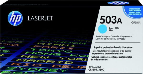 Q7581A - HP Toner Cartridge 503A Cyaan 6.000vel