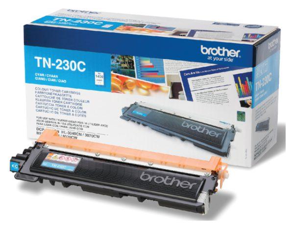 TN-230C - Brother Toner Cartridge Cyaan 1.400vel 1st