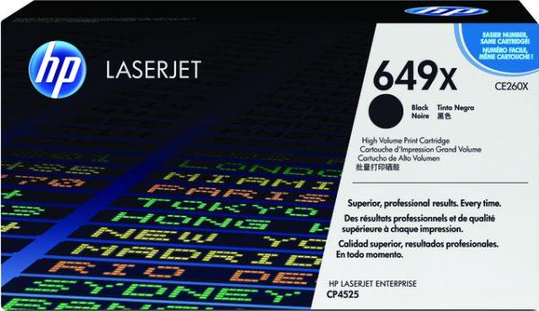 CE260X - HP Toner Cartridge 649X Black 17.000vel