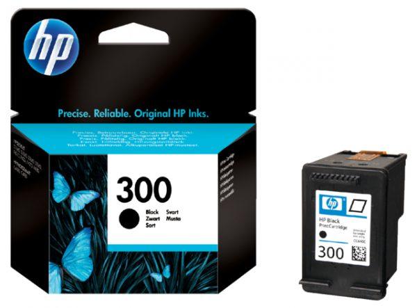 CC640EE - HP Inkt Cartridge 300 Black 4ml