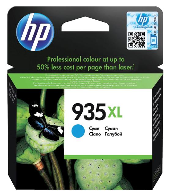 C2P24AE - HP Inkt Cartridge 935XL Cyaan 825vel