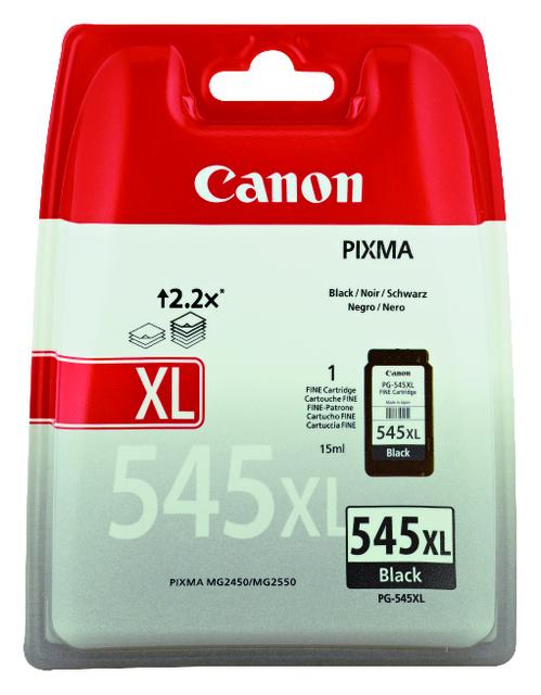 8286B001 - CANON Inkt Cartridge PG-545XL Black 400vel