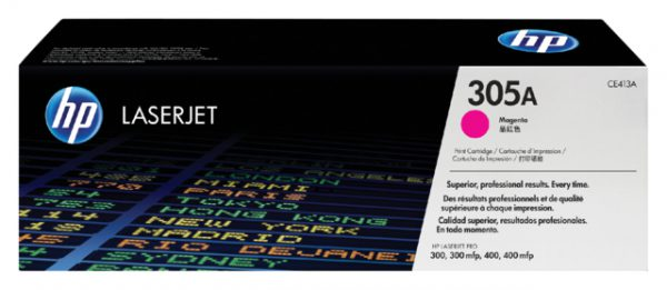 CE413A - HP Toner Cartridge 305A Magenta 2.600vel