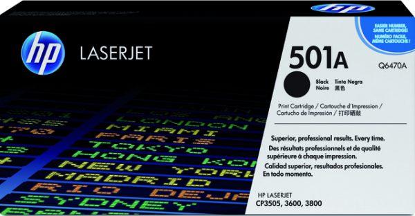 Q6470A - HP Toner Cartridge 501A Black 6.000vel