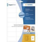 4360 - HERMA Universal Etiket Premium 70x36mm 600st Wit 1 Pak