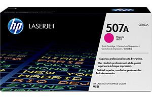 CE403A - HP Toner Cartridge 507A Magenta 6.000vel