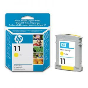 C4838AE - HP Inkt Cartridge 11 Yellow 28ml