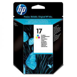 C6625AE - HP Inkt Cartridge 17 Cyaan & Magenta & Yellow 15ml