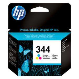 C9363EE - HP Inkt Cartridge 344 Cyaan & Magenta & Yellow 14ml