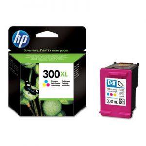 CC644EE - HP Inkt Cartridge 300XL Cyaan & Magenta & Yellow 11ml