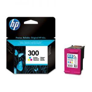 CC643EE - HP Inkt Cartridge 300 Cyaan & Magenta & Yellow 4ml