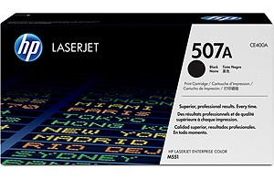 CE400A - HP Toner Cartridge 507A Black 5.500vel