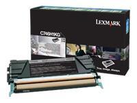 C746H1KG - LEXMARK Toner Cartridge Black 12.000vel 1st
