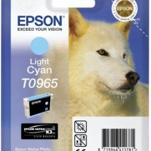 C13T09654010 - EPSON Inkt Cartridge T0965 Light Cyaan 11,4ml 1st