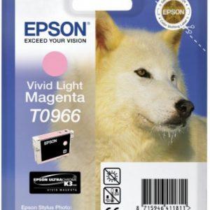 C13T09664010 - EPSON Inkt Cartridge T0966 Light Magenta 11,4ml 1st
