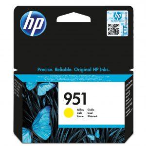 CN052AE - HP Inkt Cartridge 951 Yellow 700vel 1st