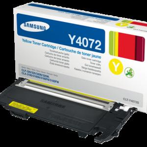 CLT-Y4072S/ELS - SAMSUNG Toner Cartridge Yellow 1.000vel 1st