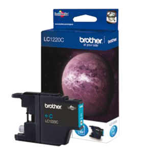 LC-1220C - Brother Inkt Cartridge Cyaan 4,8ml 1st