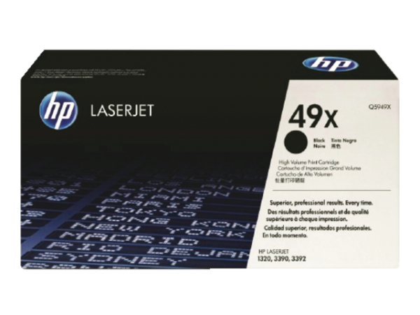 Q5949X - HP Toner Cartridge 49X Black 6.000vel
