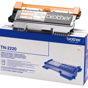 TN-2220 - Brother Toner Cartridge Black 2.600vel 1st