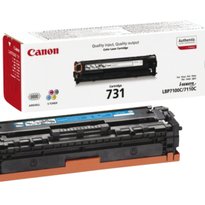 6271B002 - CANON Toner Cartridge 731 Cyaan 1.500vel