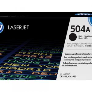 CE250A - HP Toner Cartridge 504A Black 5.000vel