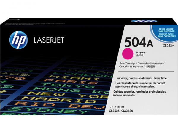 CE253A - HP Toner Cartridge 504A Magenta 7.000vel