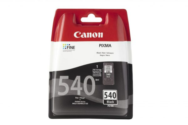 5225B005 - CANON Inkt Cartridge PG-540 Black 8ml