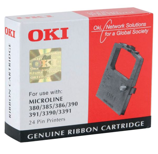 OKIR390 - OKI Inkt Lint Ml390/391 Black 1st