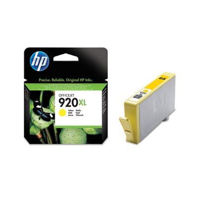 CD974AE - HP Inkt Cartridge 920XL Yellow 6ml
