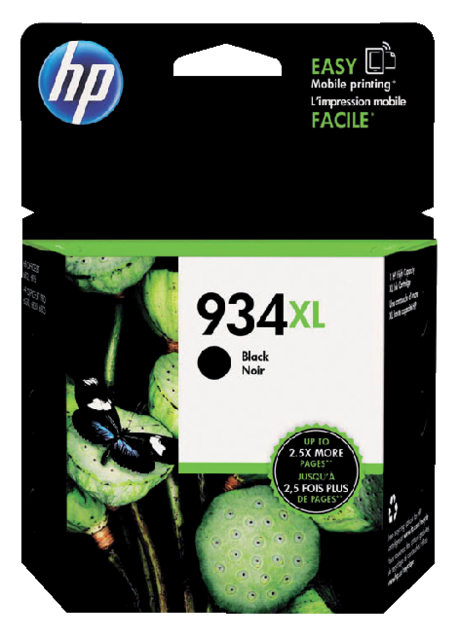 C2P23AE - HP Inkt Cartridge 934XL Black 1000vel