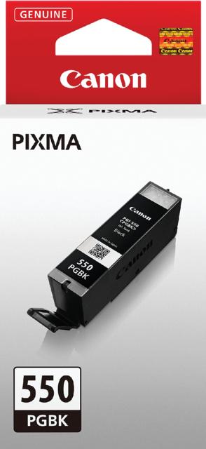 6496B001 - CANON Inkt Cartridge PGI-550BK Black 15ml