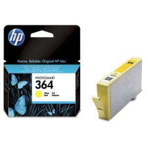 CB320EE - HP Inkt Cartridge 364 Yellow 3ml