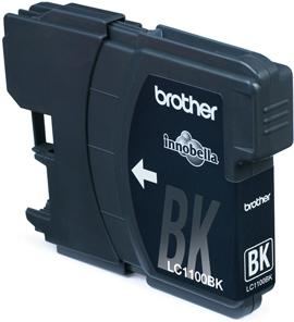 LC-1100BK - Brother Inkt Cartridge Black 6,5ml 1st
